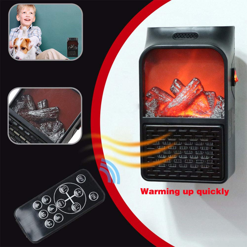 Mini Portable Electric Fireplace Warmer-Buy 2 free shipping
