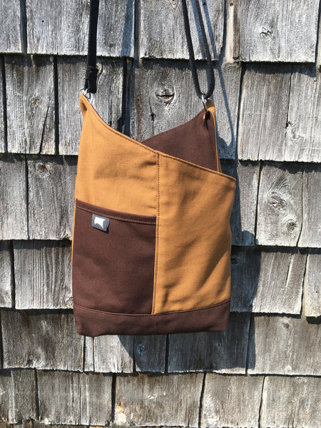 OOAK #12 Brown Carhartt Patch Tote