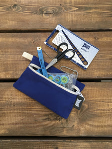 Knitting Pouch, Accessories - Blue *Available-Now*