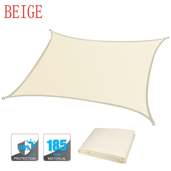 Carré Rectangle Ombre Voile Jardin Terrasse