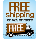 Fast Free shipping on orders over $25