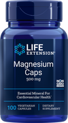 Life Extension Magnesium Caps 500 mg, 100 veg caps | 01459