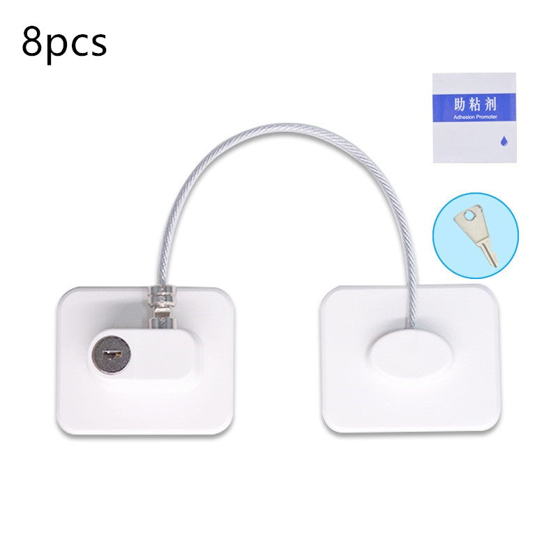 Window/Cabinet Lock Door Security Guard for Baby Safety