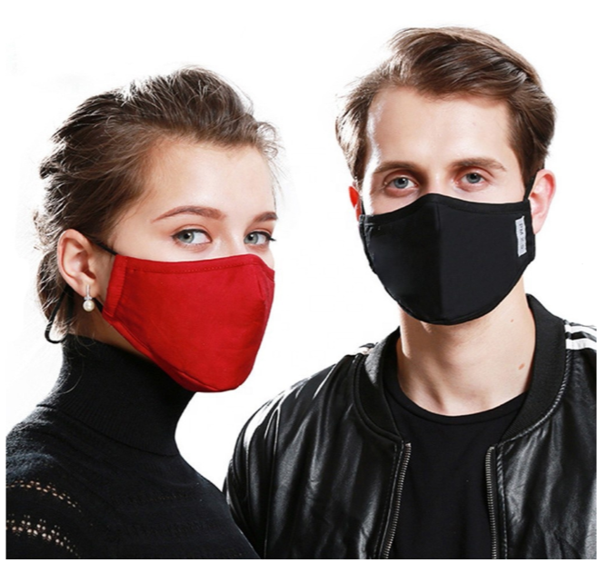 Fashion Cotton KN95 Mask With PM2.5 Filter