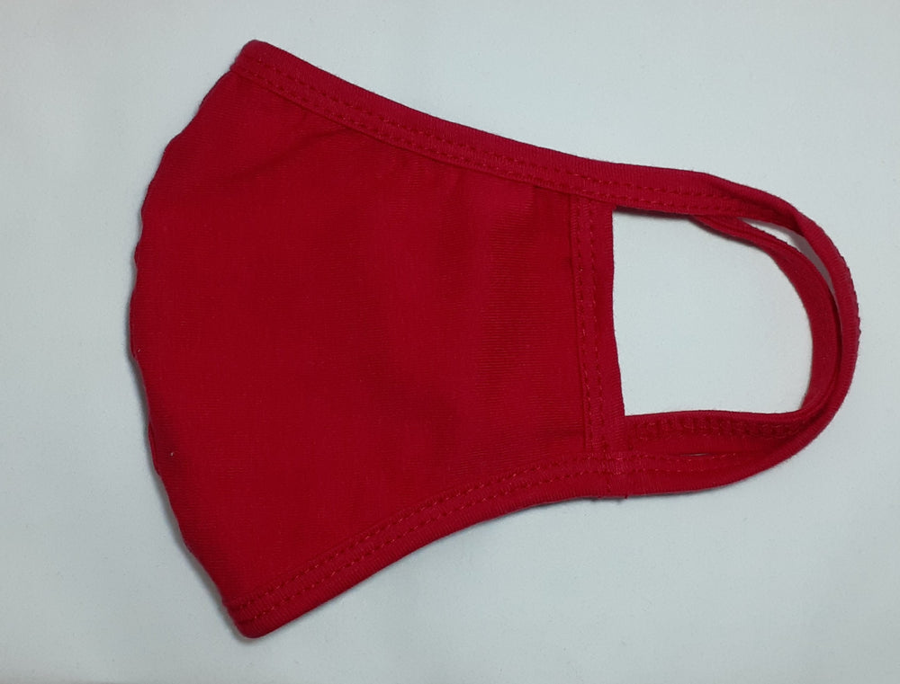 WOMEN'S COTTON MASK WITH REAR PM2.5 FILTER POCKET - DESIGNED FOR A FEMALE FACE
