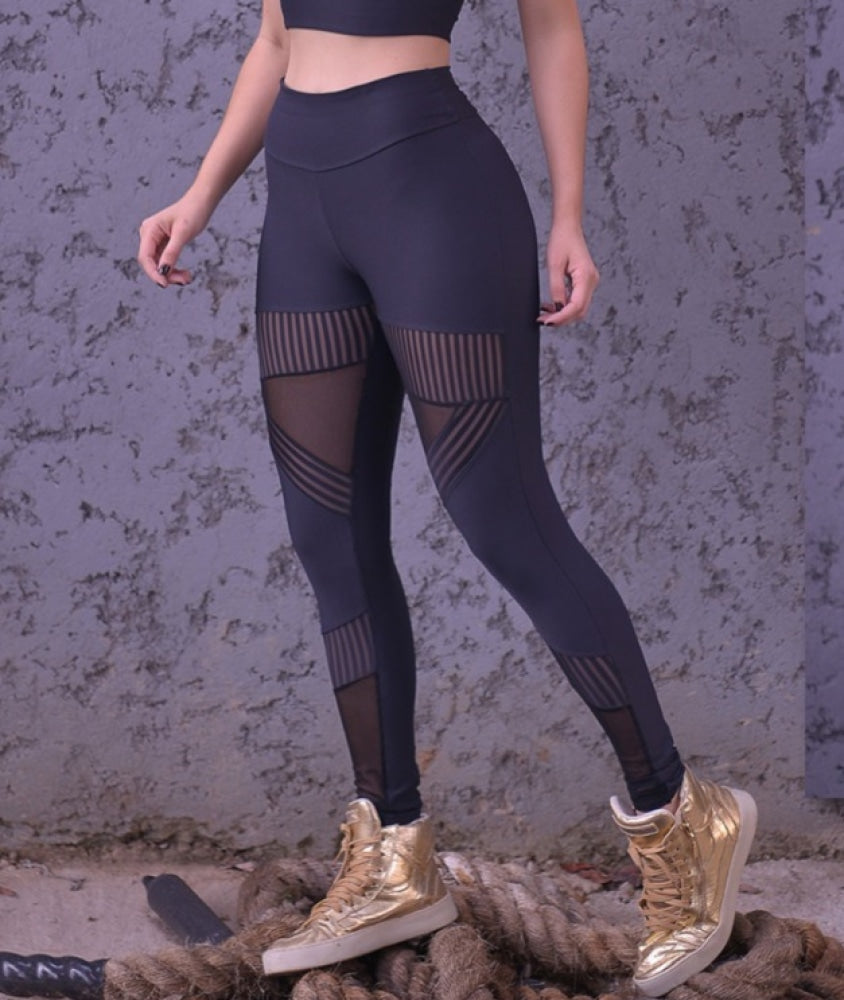 Legging Transparency Uv50+ Emana Top Designer Fino Corpo Leggings Corpo