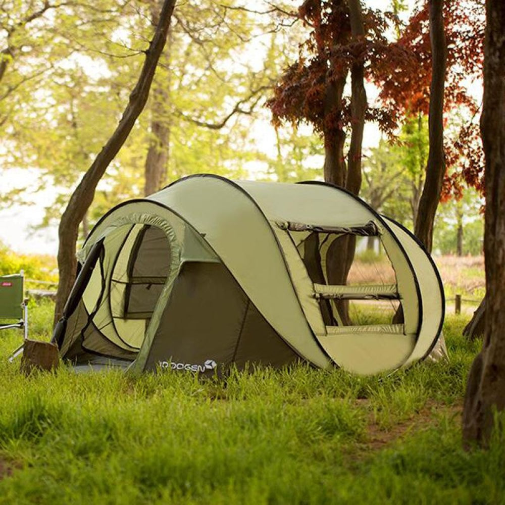 New 2020 Camping Tent Sleeps 5-6 People Green Sports & Outdoors Equipment