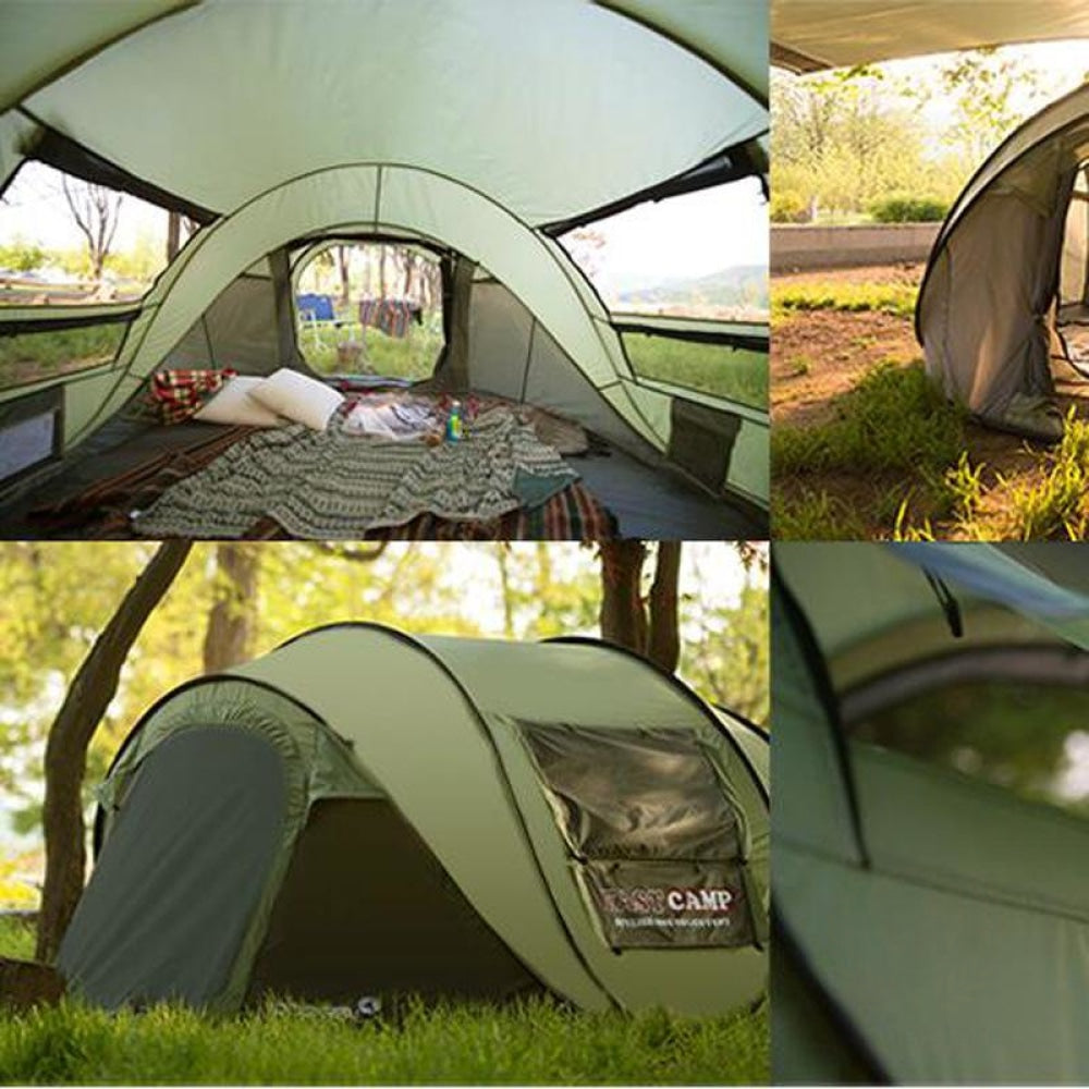 New 2020 Camping Tent Sleeps 5-6 People Sports & Outdoors Equipment