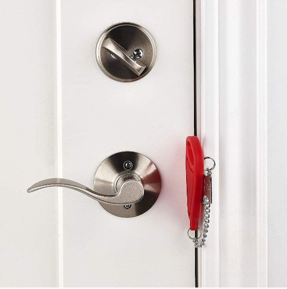 Portable Safety Door Lock Temporary Stop Red Door Lock