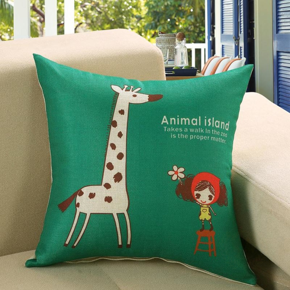 Printed Sofa Cushion Cover 1 Style / 50X50Cm Cushion Covers