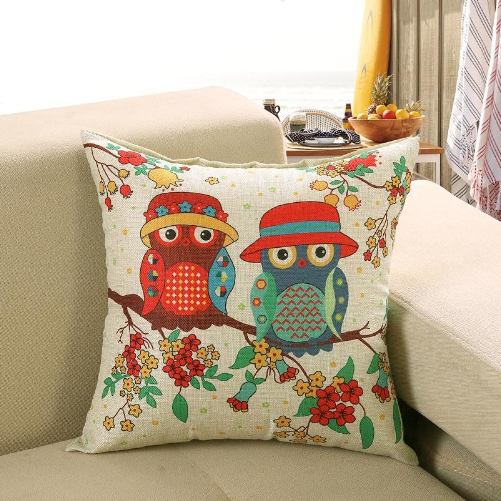 Printed Sofa Cushion Cover 11 Style / 50X50Cm Cushion Covers