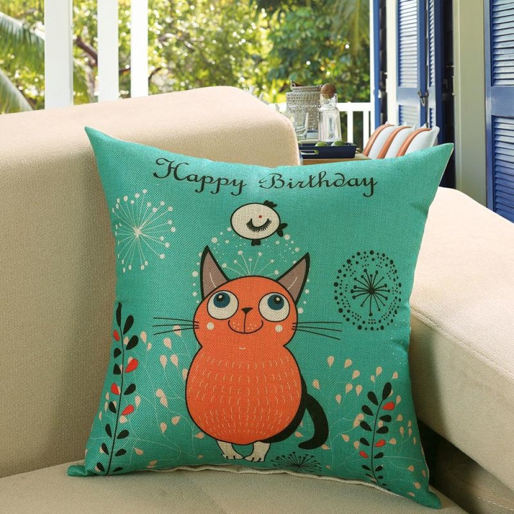 Printed Sofa Cushion Cover 12Style / 45X45Cm Cushion Covers