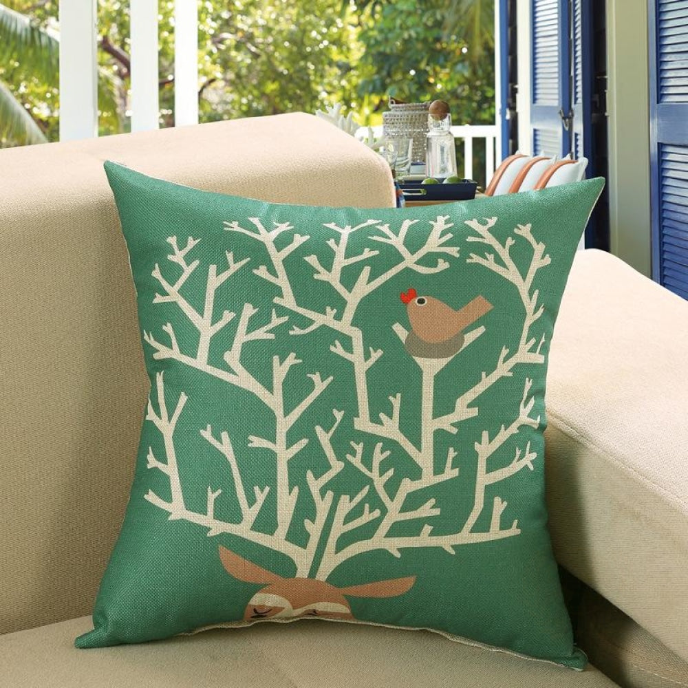 Printed Sofa Cushion Cover 16 Style / 45X45Cm Cushion Covers