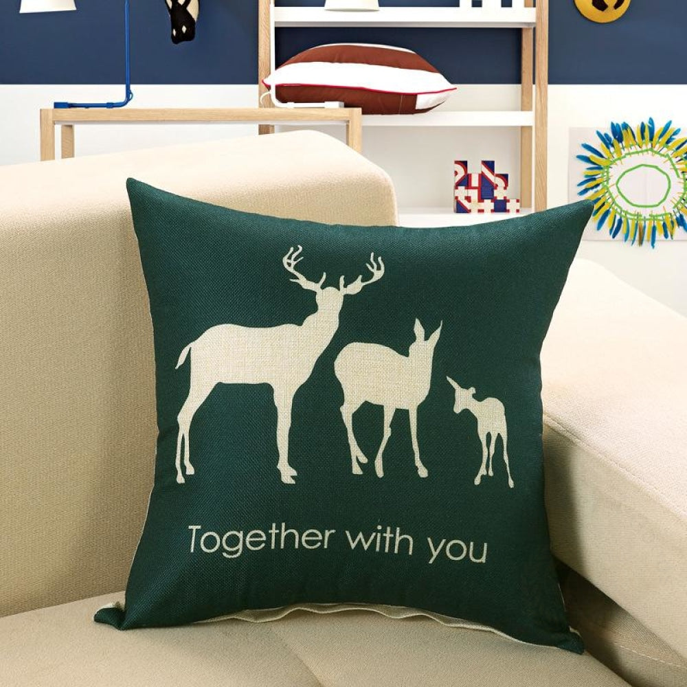 Printed Sofa Cushion Cover 17 Style / 50X50Cm Cushion Covers