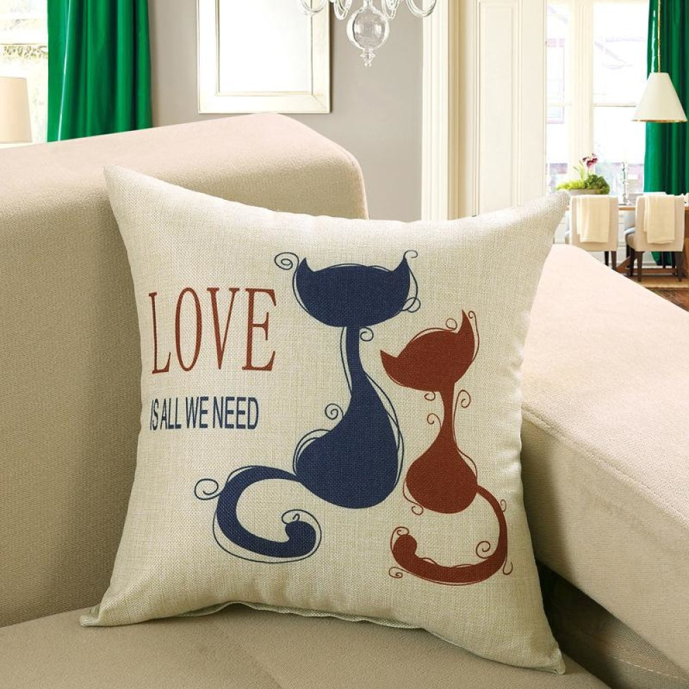 Printed Sofa Cushion Cover 18 Style / 50X50Cm Cushion Covers