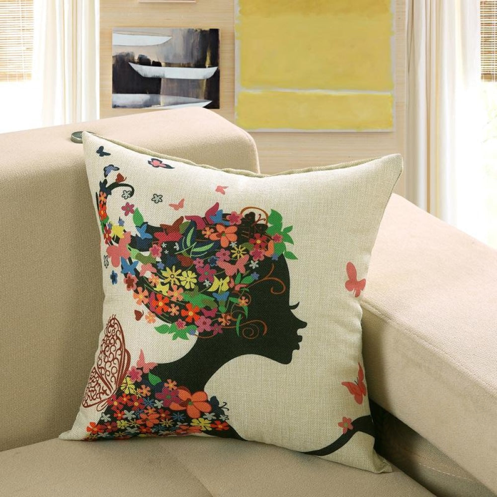 Printed Sofa Cushion Cover 19 Style / 40X40Cm Cushion Covers