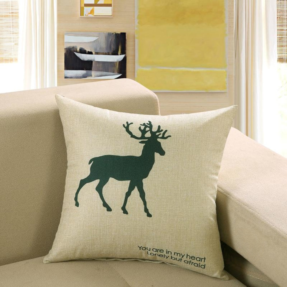 Printed Sofa Cushion Cover 3 Style / 40X40Cm Cushion Covers