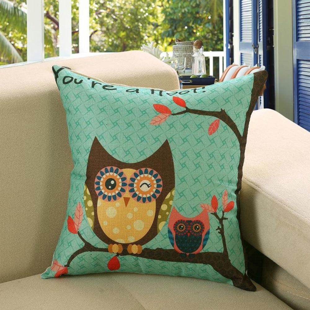 Printed Sofa Cushion Cover 4 Style / 40X40Cm Cushion Covers
