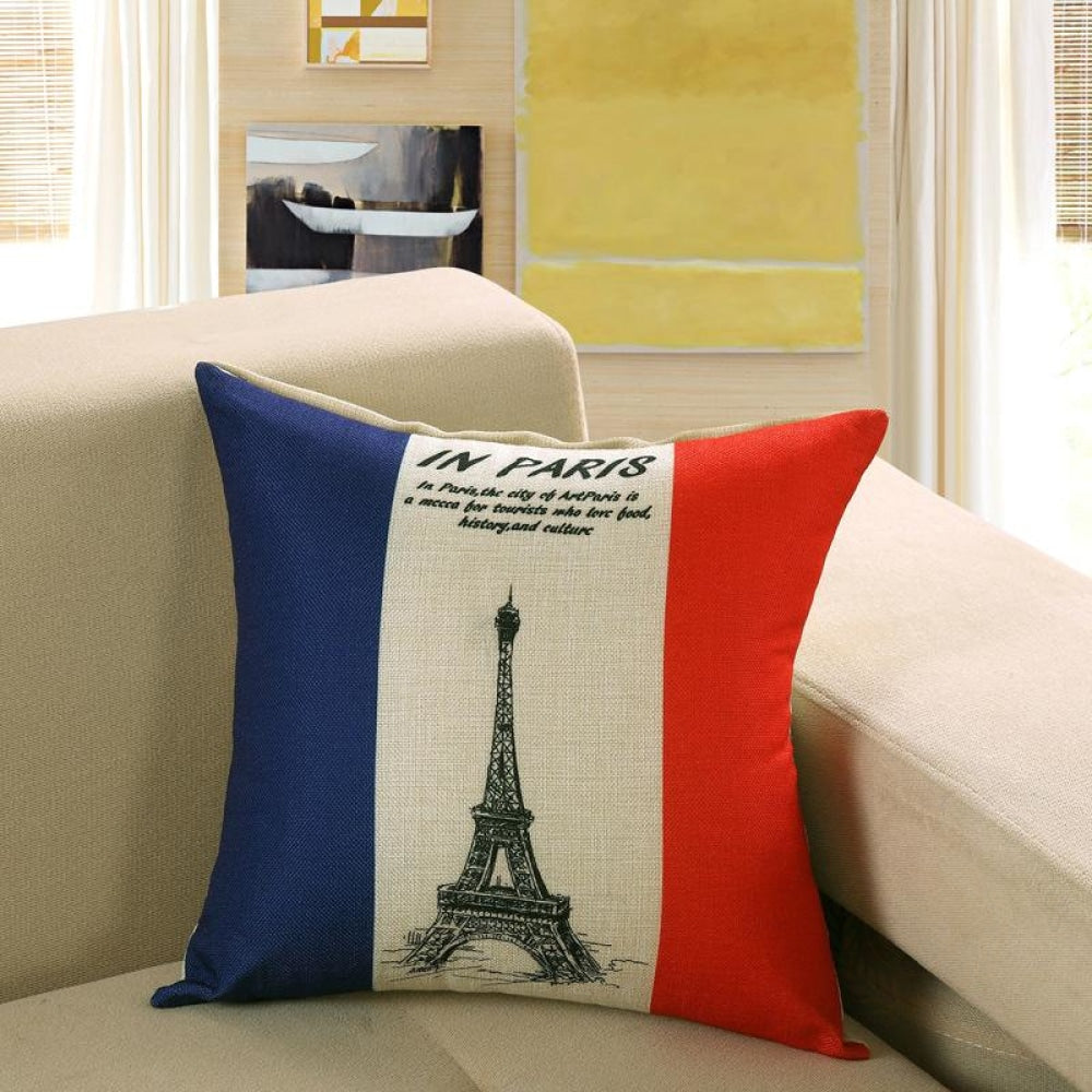 Printed Sofa Cushion Cover 5 Style / 40X40Cm Cushion Covers