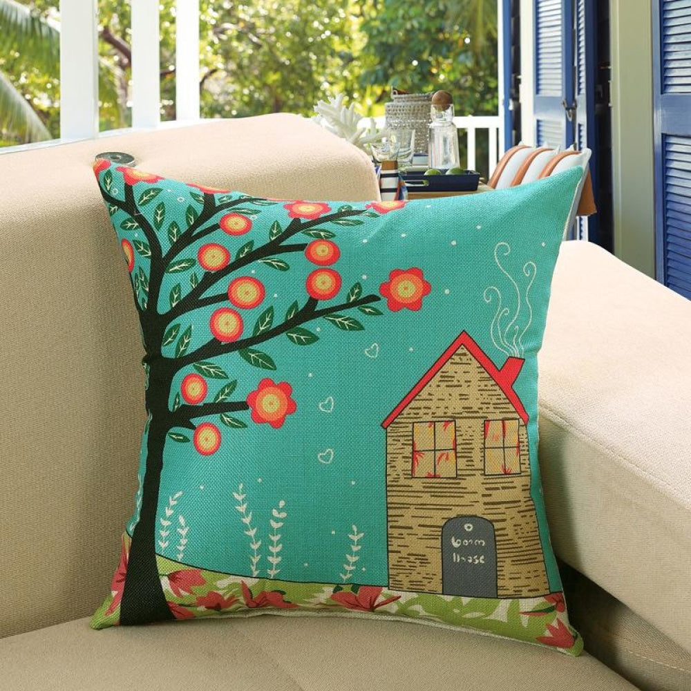 Printed Sofa Cushion Cover 6 Style / 45X45Cm Cushion Covers