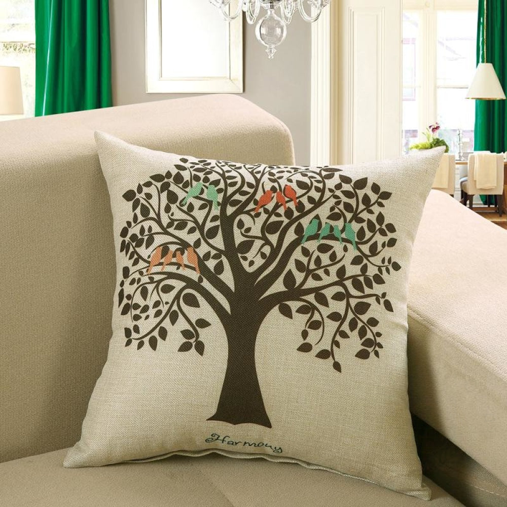 Printed Sofa Cushion Cover 8 Style / 40X40Cm Cushion Covers