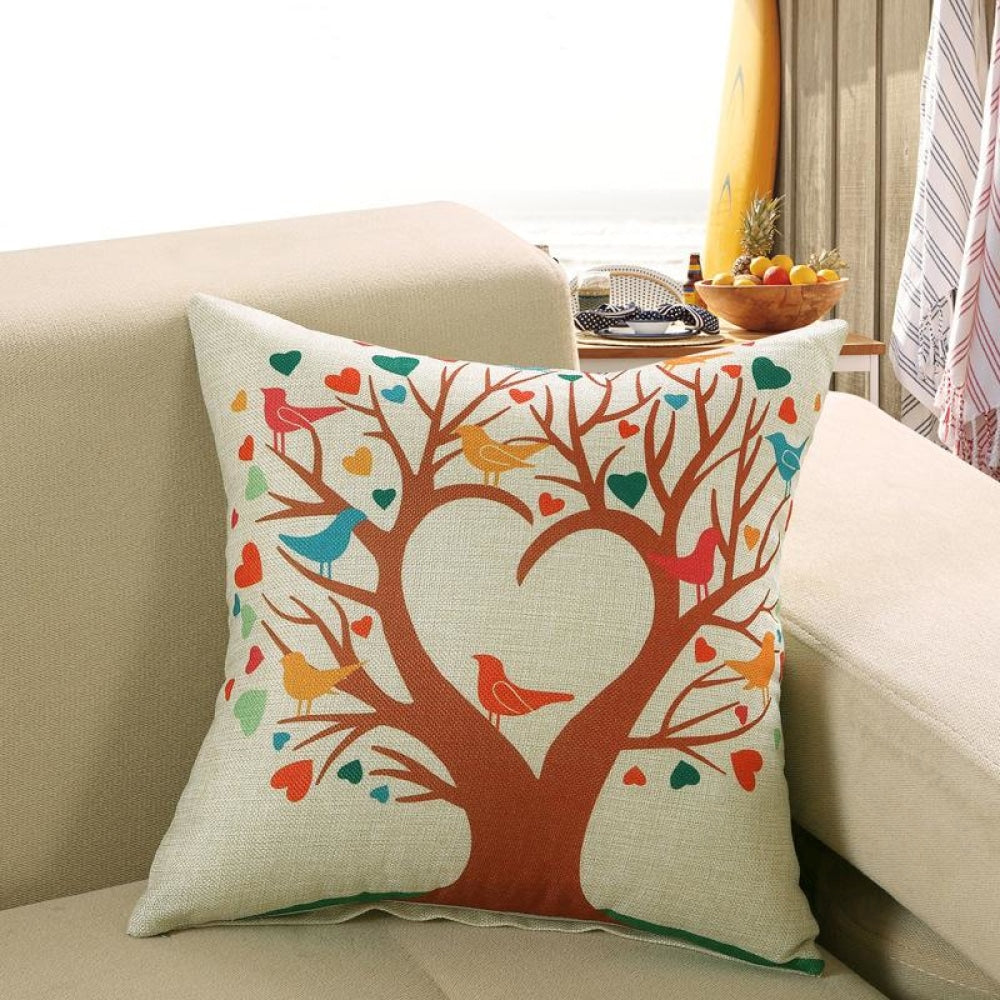 Printed Sofa Cushion Cover 9 Style / 50X50Cm Cushion Covers