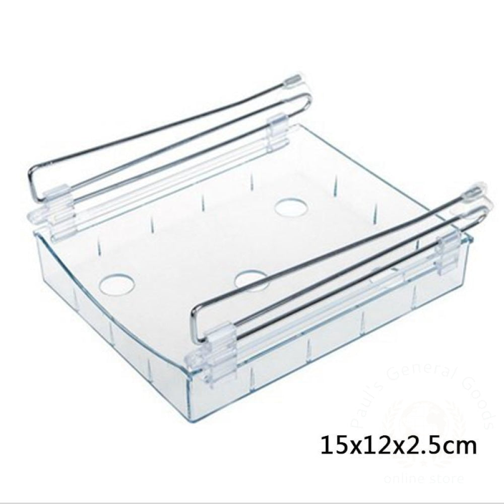 Refrigerator Fresh-Keeping Multi-Purpose Finishing Storage Rack Transparent 3 / 1 Kitchen Storage