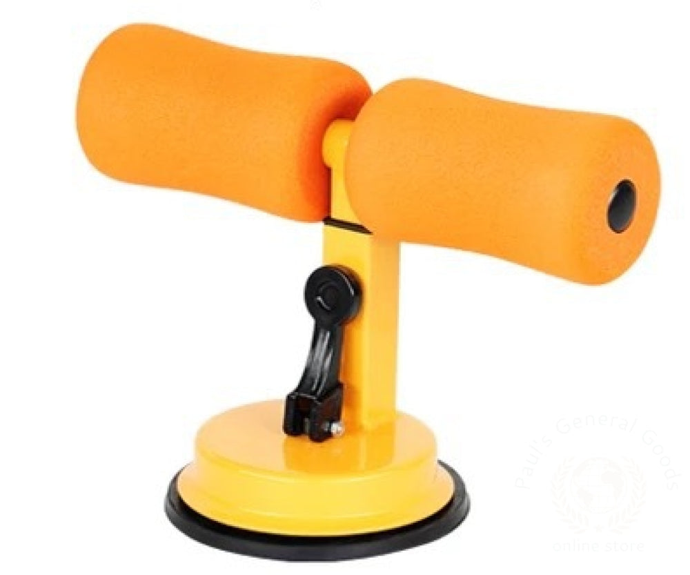 Sit Up Bar For Home / Office Orange Sports Equipment