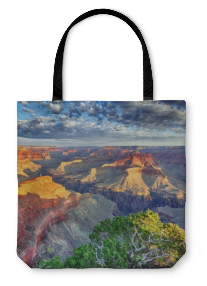 Tote Bag Morning Light At Grand Canyon 13 Inches Wide
