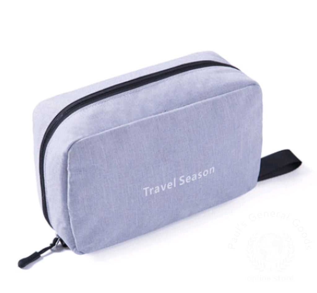 Wash Bag Male Portable Travel Wash Female Outdoor Products Mens Cosmetic Toiletries Storage Gray