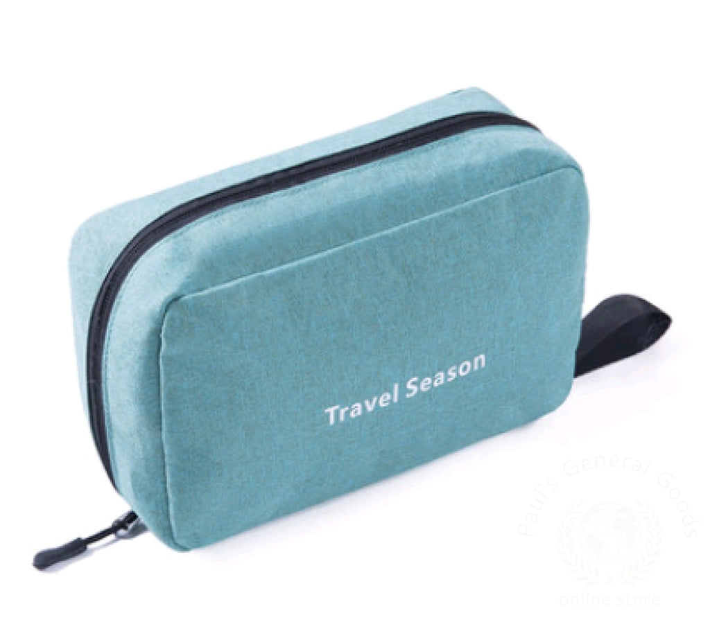 Wash Bag Male Portable Travel Wash Female Outdoor Products Mens Cosmetic Toiletries Storage Green