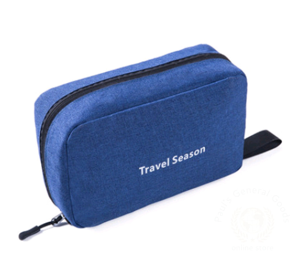 Wash Bag Male Portable Travel Wash Female Outdoor Products Mens Cosmetic Toiletries Storage Navy