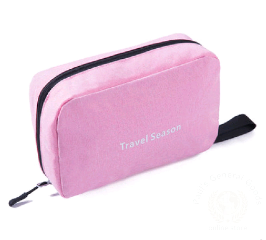 Wash Bag Male Portable Travel Wash Female Outdoor Products Mens Cosmetic Toiletries Storage Pink