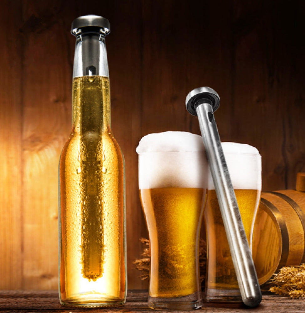 Wine/beer Bottle Cooler Stick Stainless Steel Kitchen