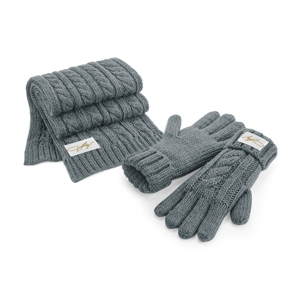 DOLLY SCARF & GLOVE SET