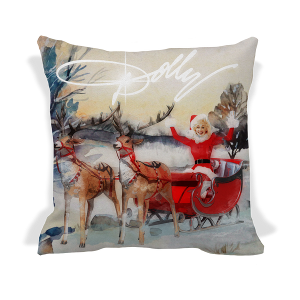 DOLLY SLEIGH THROW PILLOW COVER