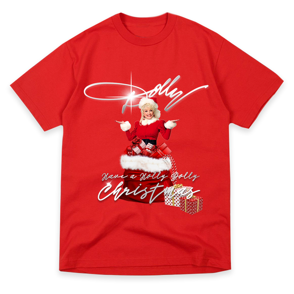 SANTA DOLLY RED T-SHIRT