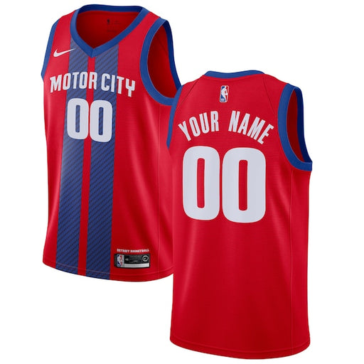 Detroit Pistons Nike City Edition Swingman