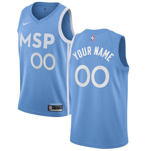 Minnesota Timberwolves Nike City Edition Swingman