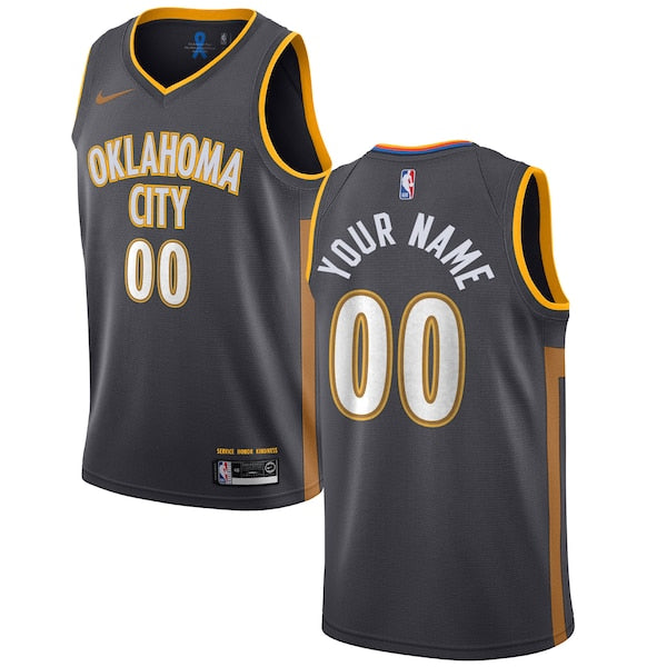 Oklahoma City Thunder Nike City Edition