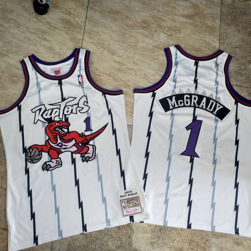 Mcgrady Toronto Raptors Authentic M&N jersey