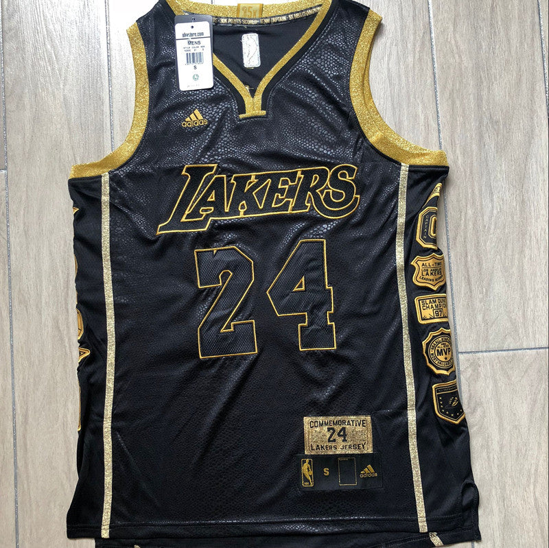 #24 Bryant Black retired version Authentic jersey גופיית כדורסל - Sport&More
