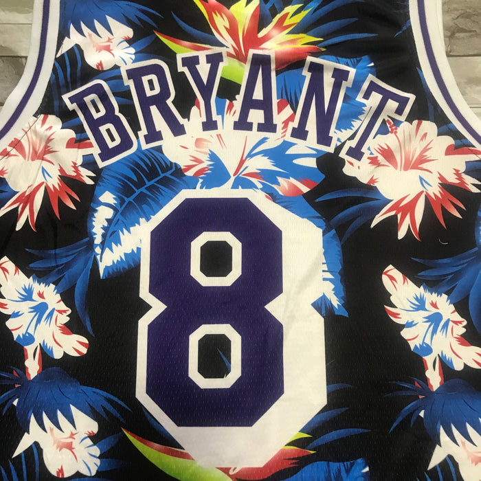 #8 Bryant Lakers Floral jersey