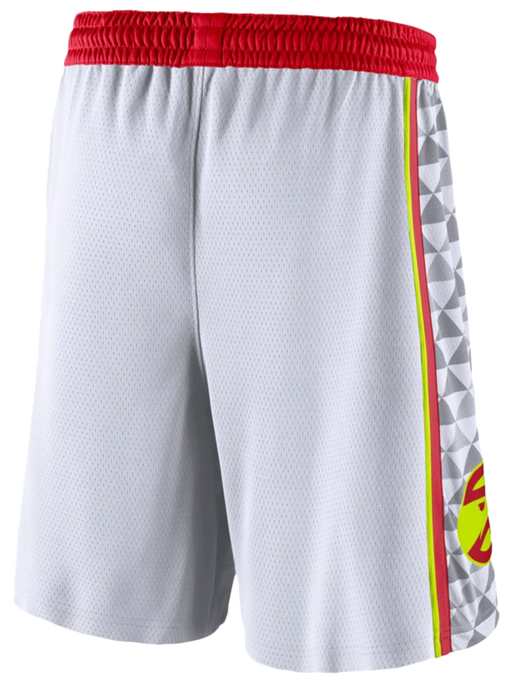 ATLANTA Hawks Association Shorts - White