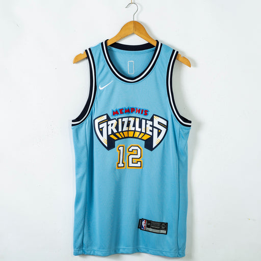 #12 MorantMemphis Grizzlies 2021 city jersey blue (stitched) - Sport&More