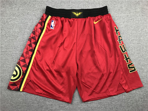 ATLANTA Hawks Shorts - RED