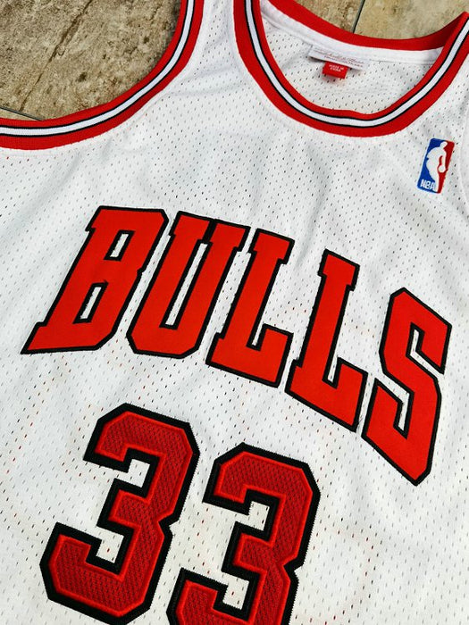#33 Pippen chicago bulls Authentic M&N jersey white - Sport&More