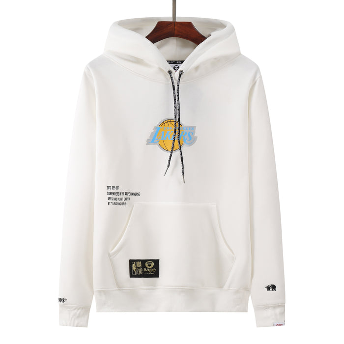 NBA x AAPE Hoodie (Limited Edition) Los Angeles Lakers קפוצ'ון של קבוצת הכדורסל - Sport&More