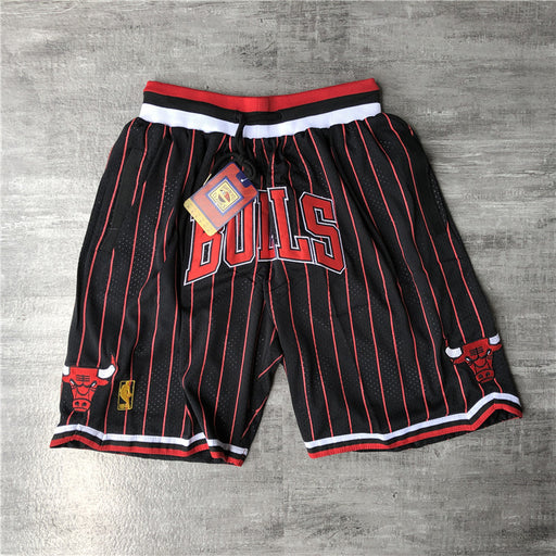 Just ★ Don‏ Shorts Chicago Bulls red stripe - Sport&More