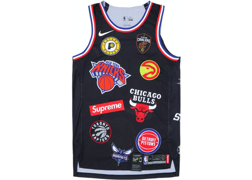 Nike/NBA Teams Jersey Black‏ Supreme